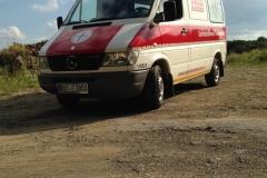Sanitätsdienst-Tennagels-Sprinter-212-1_85-01-Frontansicht-ex.-KTW1-1FA6