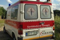 Sanitätsdienst-Tennagels-Sprinter-212-1_85-01-Heckansicht-ex.-KTW1-6F50